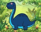 Dinosauro Diplodocus