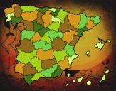 Le province di Spagna