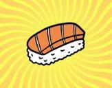Niguiri di salmone