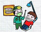 Dentista con paziente