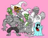 Monstri di Halloween