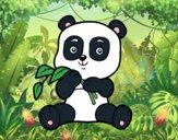 Un orso panda