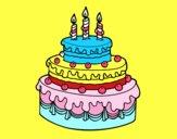 Dolce di compleanno