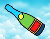 Bottiglia di sciampagna