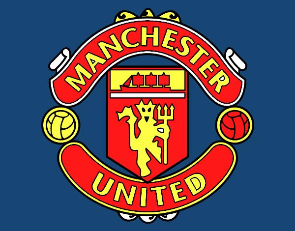 disegno stemma del manchester united fc colorato da utente non registrato il 18 di aprile del 2017 galleria acolore com