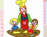 Cuoco mamma