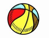 Il pallone da pallacanestro