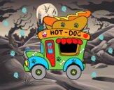 Food truck di hot dog