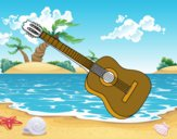 Una chitarra spagnola