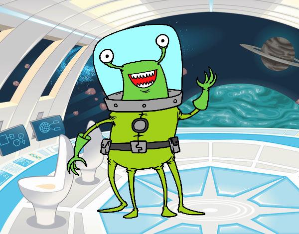 Alien quattro gambe