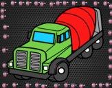 Camion betoniera