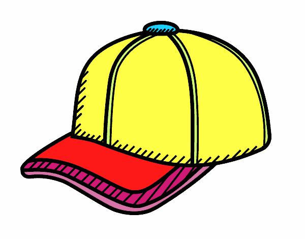 Disegno cappello da sportivo colorato da utente non for Cappello disegno da colorare