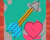 Freccia e cuore