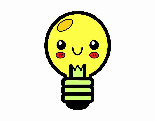Disegno lampadina colorato da utente non registrato il 14 for Colori soggiorno 2017