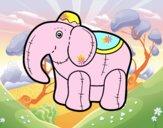 Elefante di straccio