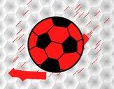 Una palla di calcio