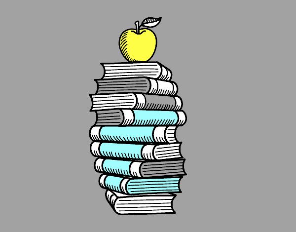 Libri e mela