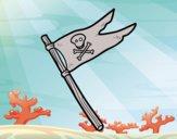 Una bandiera pirata