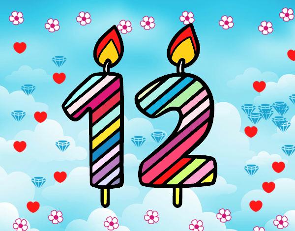Disegno Candeline Di Compleanno Colorato Da Utente Non Registrato Il