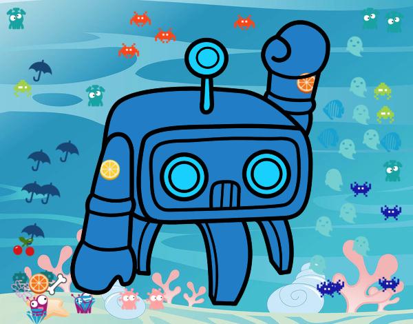 robot contro alieni