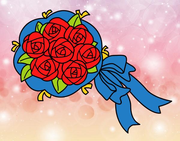 Disegno mazzo di gardenie colorato da utente non for Disegni del mazzo del cortile anteriore