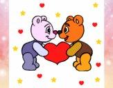 Orsi innamorato