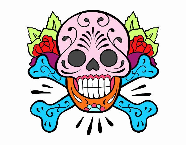 Tatuaggio di teschio