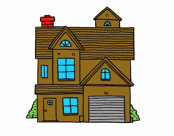 Casa di famiglia americana