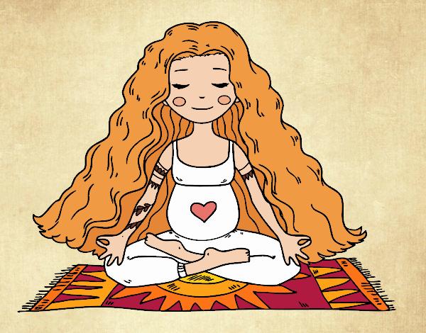 Incinta praticare lo yoga