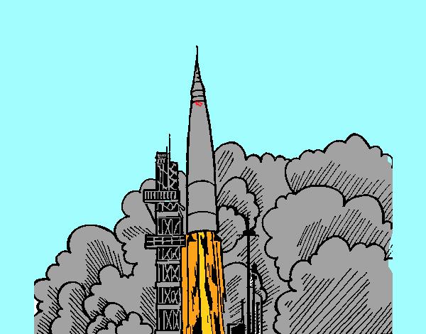 Lancio di un razzo