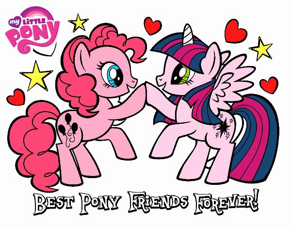 Migliori  poni amici per sempre