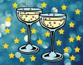 Champagne occhiali