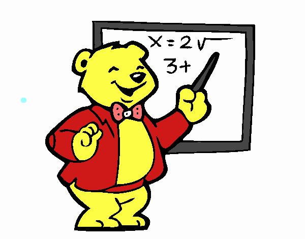 Orso professore