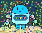 Robot con le pinzette