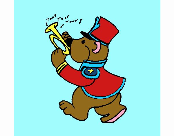 Orso trombettista