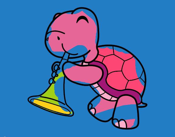 Tartaruga con tromba