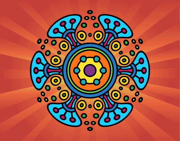 Mandala mondo lontano