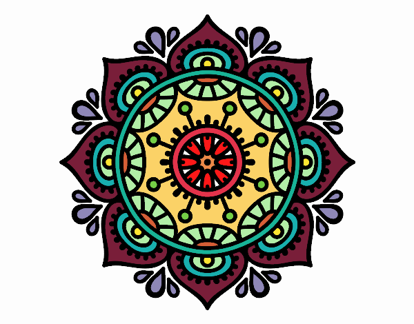 Mandala per rilassarsi