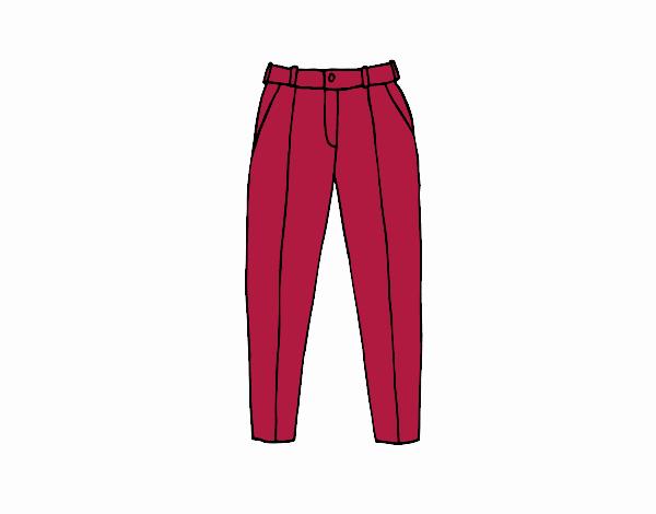 Disegno Pantaloni A Pieghe Colorato Da Pyrex Il 13 Di Agosto Del 2017