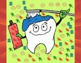 Pulizia del molare