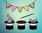 Conigli e cappelli