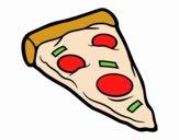 Servire la pizza