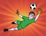 Il portiere di calcio