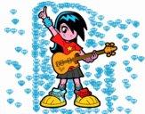Rocker ragazza