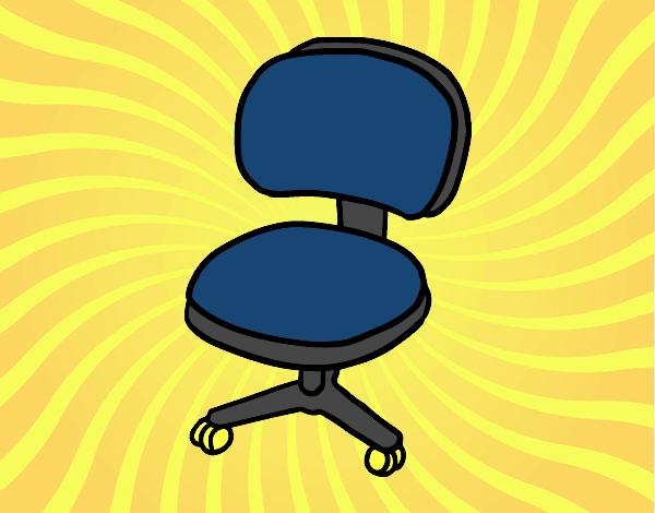 Sedia con rotelle