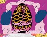 Uovo di Pascua in stile giapponese