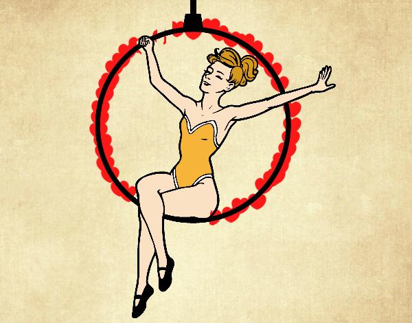 Donna trapezista