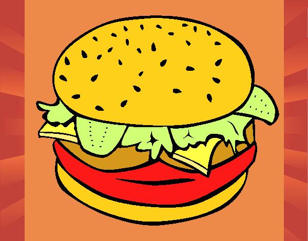 Hamburger completo