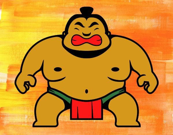 Lottatore giapponese