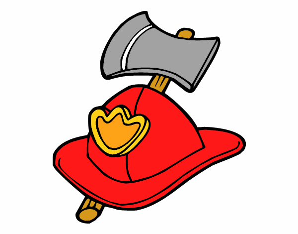 Fireman Helmet e Axe